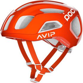 POC Ventral Air Spin Bike Helmet orange/white